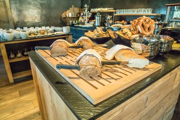 The breakfast Tirler – Dolomites Living Hotel - Hotel 4 stars sup.