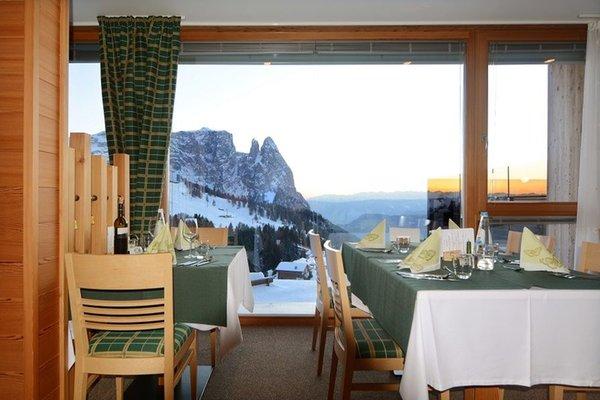 Il ristorante Alpe di Siusi Berghotel Zorzi