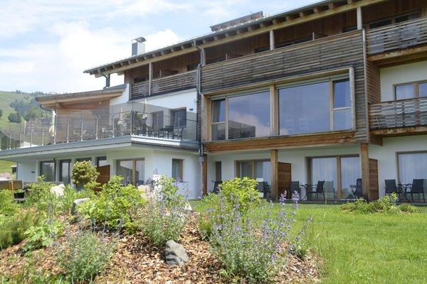 Foto esterno in estate Berghotel Zorzi