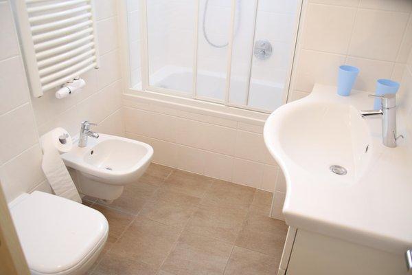 Foto del bagno Appartamenti Obexer