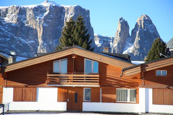Foto invernale di presentazione Obexer - Appartamenti 2 soli