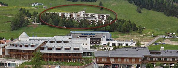 La posizione Garni (B&B) + Appartamenti Alpi Alpe di Siusi
