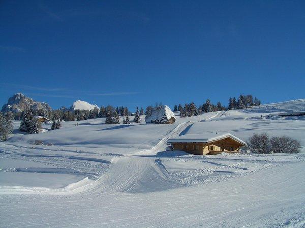 Foto invernale di presentazione Casa vacanze Chalet Seiseralm