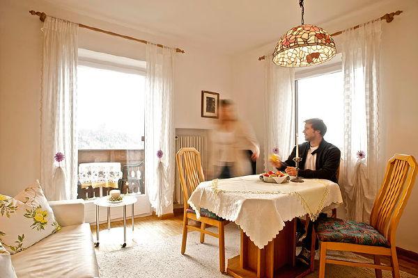 La zona giorno Gatschol - Appartamenti 3 soli