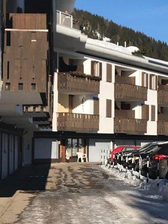 Foto invernale di presentazione Appartamento Zago