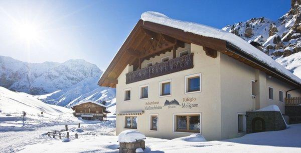Foto invernale di presentazione Mahlknechthütte - Rifugio con camere