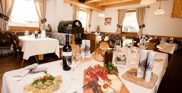 Il ristorante Alpe di Siusi Mahlknechthütte