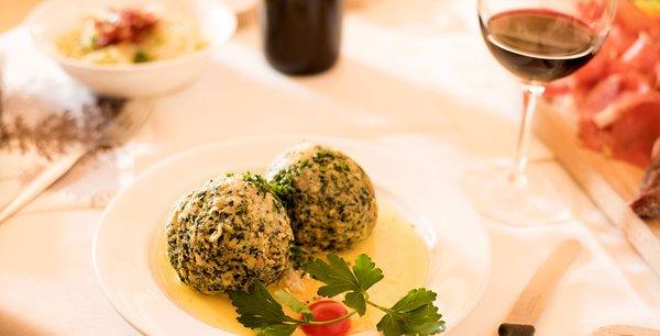 Ricette e proposte gourmet Mahlknechthütte
