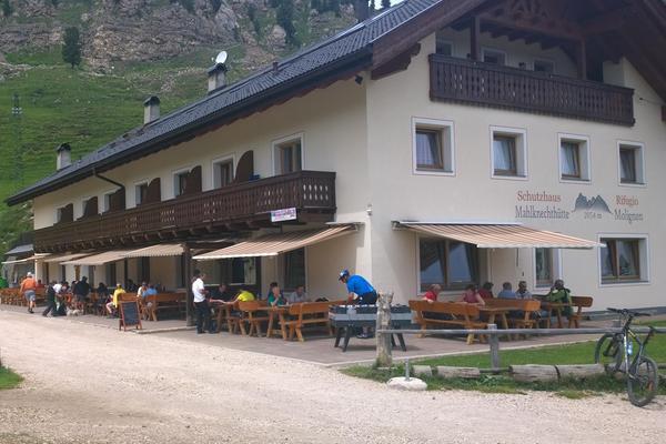 Foto esterno in estate Mahlknechthütte
