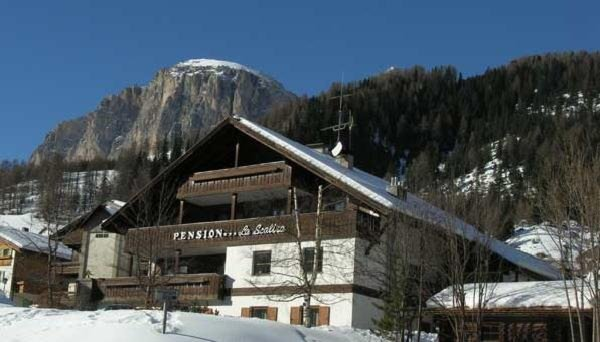 Foto invernale di presentazione La Scalira - Pensione 3 stelle