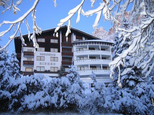 Winter Präsentationsbild Riposo - Residence 2 Sterne