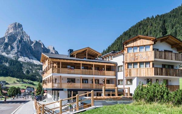 Foto estiva di presentazione Villa Tony - Small Romantic Hotel