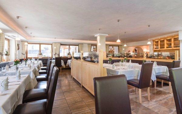 Il ristorante Corvara Villa Tony - Small Romantic Hotel