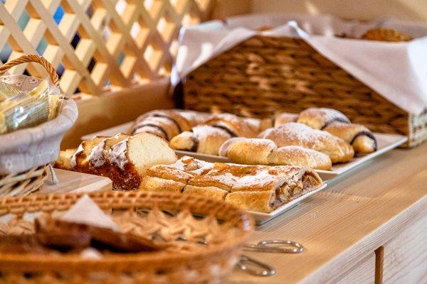 Das Frühstück Pension Ciasa Blancia