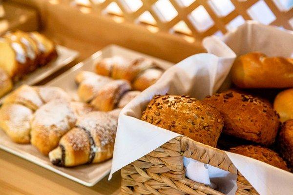The breakfast Small hotel Ciasa Blancia