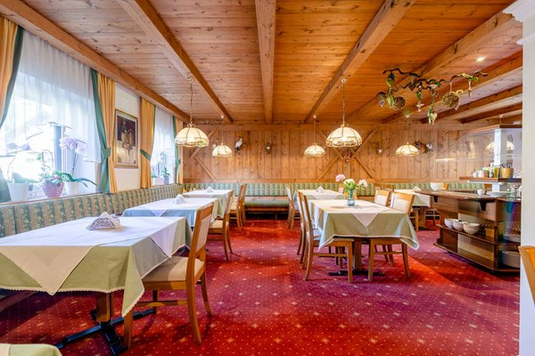The restaurant Corvara Ciasa Blancia