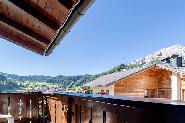 Foto vom Balkon Ciasa Blancia