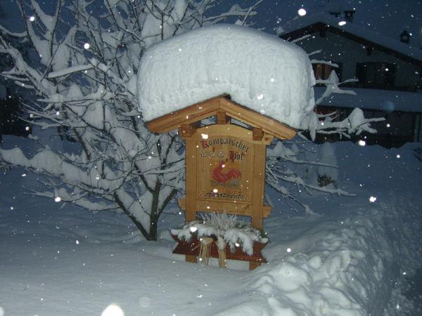 Foto esterno in inverno Kompatscherhof