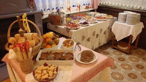 Il ristorante Caprile Aurora