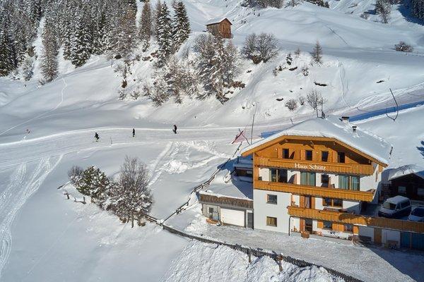 Lage Residence Chalet Schütz Corvara