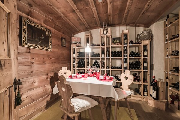 La cantina dei vini Campo Tures Drumlerhof