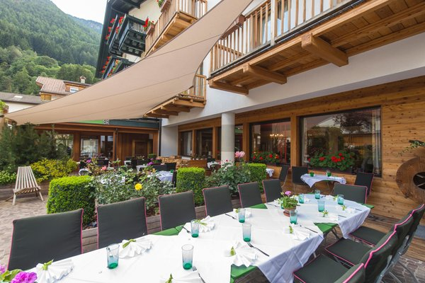 The restaurant Campo Tures / Sand in Taufers Drumlerhof