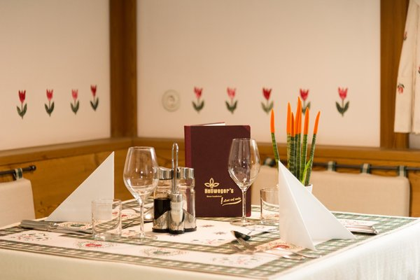 The restaurant Campo Tures / Sand in Taufers Hellweger