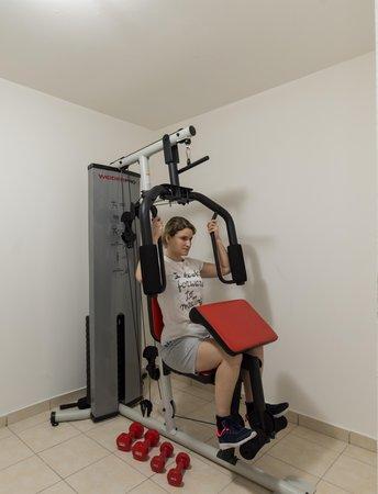 Foto della zona fitness Hotel Hellweger