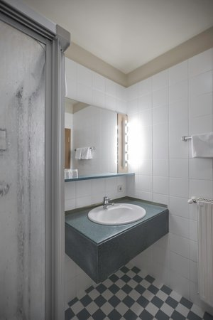 Foto del bagno Hotel Alphotel Stocker