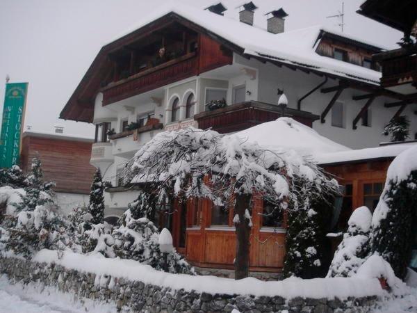 Foto invernale di presentazione Alphotel Stocker - Hotel 3 stelle sup.