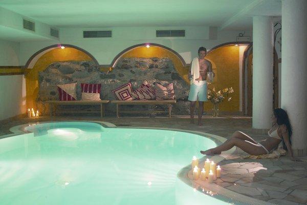 La piscina Alphotel Stocker - Hotel 3 stelle sup.