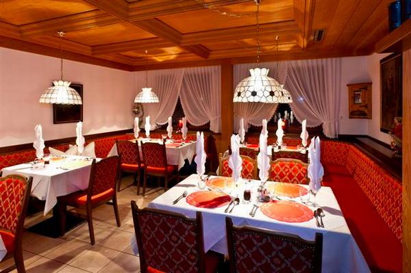 Il ristorante Campo Tures Mirabell