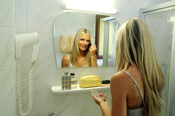 Foto del bagno Hotel Mirabell