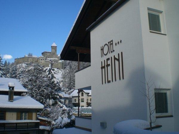 Foto invernale di presentazione Heini - Hotel 3 stelle