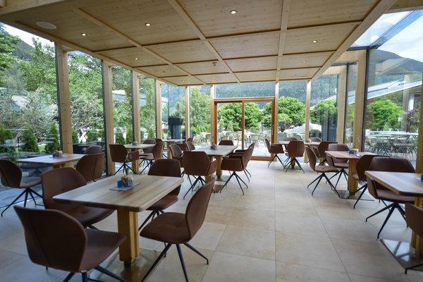 Das Restaurant Sand in Taufers Residence Hotel Alpinum