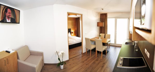 The living area Apartments in hotel Central