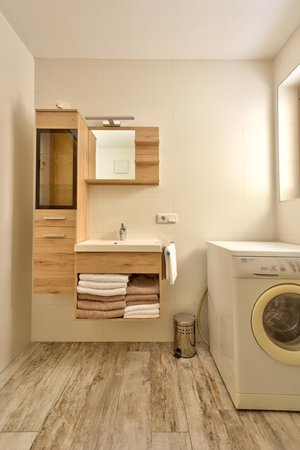 Photo of the bathroom Apartments Pfarrwirt