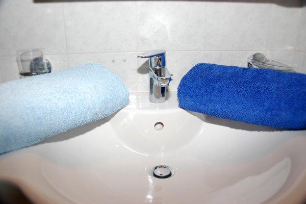 Foto del bagno Appartamenti Duregger