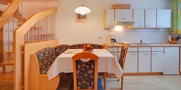 Foto der Küche Huberhof