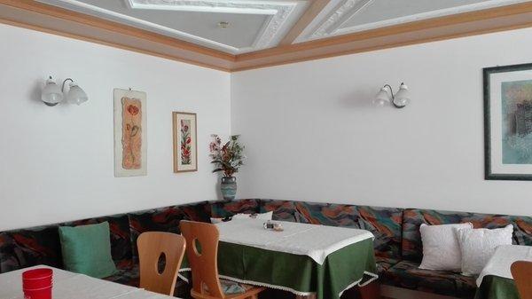 Il ristorante Corvara Valbona