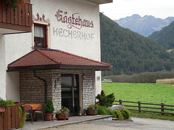 Foto Außenansicht Pension Hecherhof