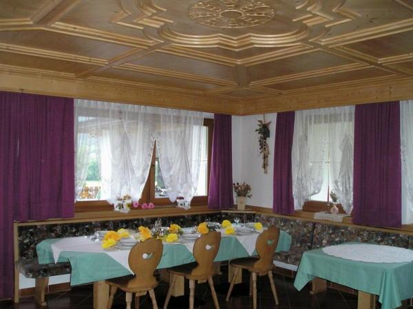 Il ristorante Caminata (Valle di Tures) Alpengruss