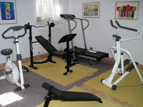 Foto della zona fitness Pensione Alpengruss