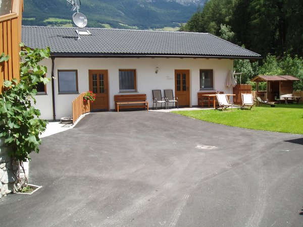 Foto Außenansicht im Sommer Mesnerhof