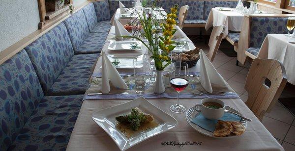 Das Restaurant Ahornach (Tauferer Tal) Roanerhof