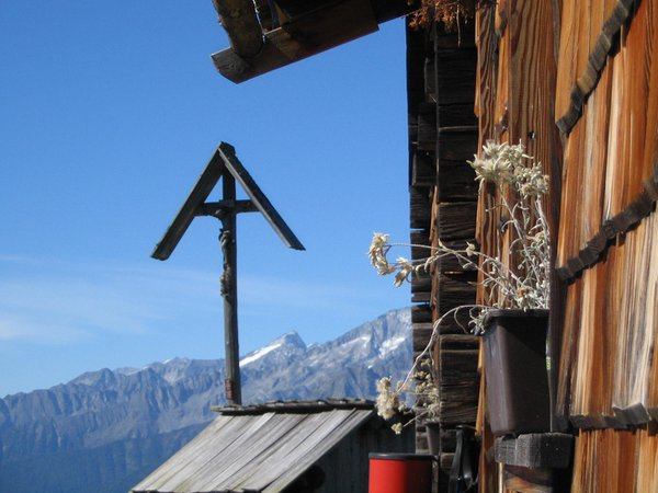 Foto di alcuni dettagli Alpenrast