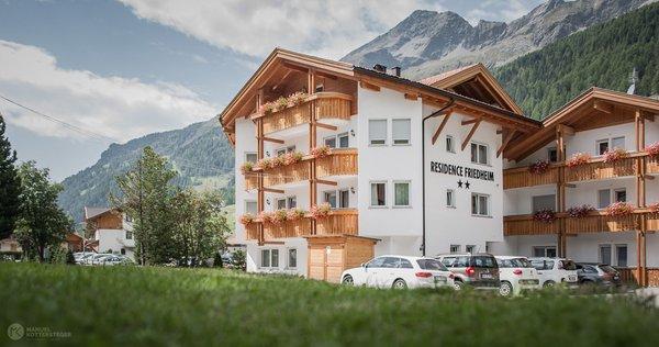 Foto estiva di presentazione Residence Friedheim