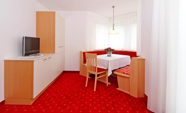La zona giorno Friedheim - Residence 2 stelle