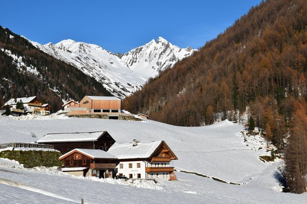 Foto Außenansicht im Winter Lanerhof