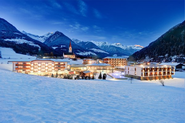 Foto invernale di presentazione Schwarzenstein - Hotel 4 stelle sup.